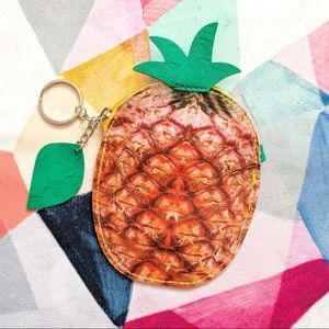 🆕 Fruit Coin Purse - Pineapple 🍍